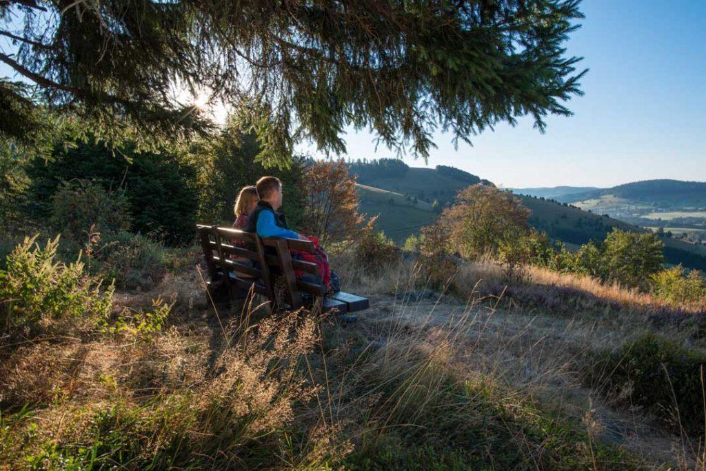 Aussicht über Bernau genießen © Klaus-Peter Kappest