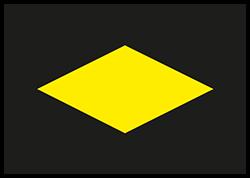 Gelbe Raute