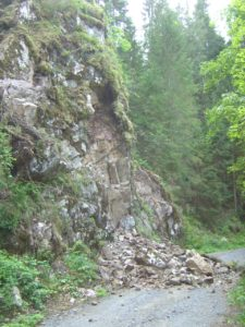 Felssturz Am Albsteig, Etappe 4b