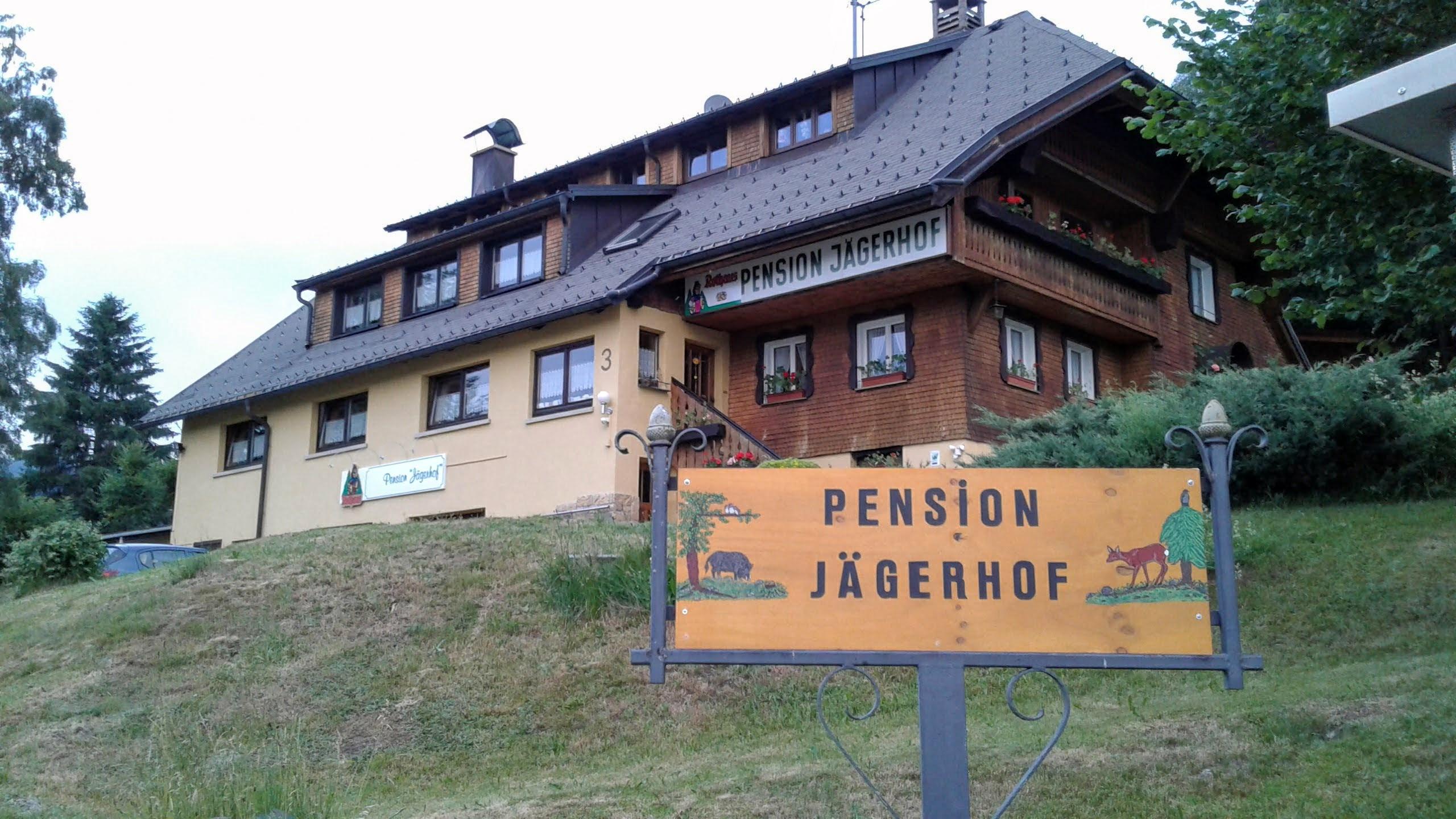 Außenansicht Pension Jägerhof