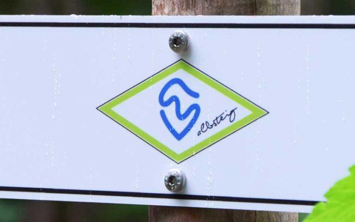Albsteig-Schwarzwald Beschilderung