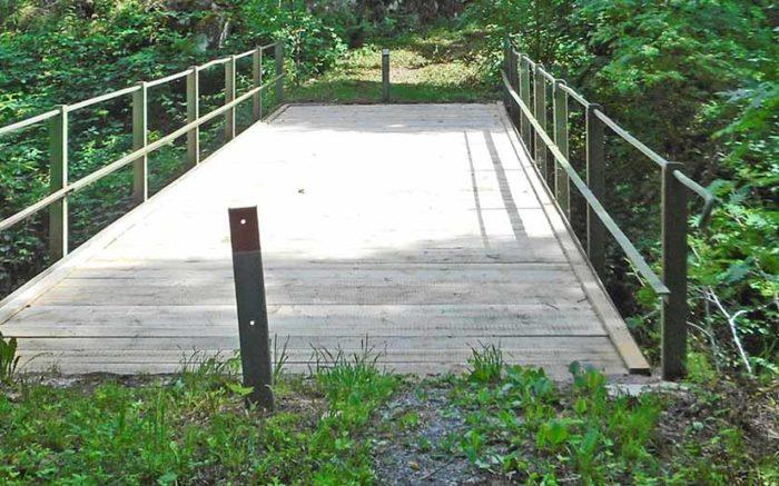 Albsteig Brücke Teufelsküche